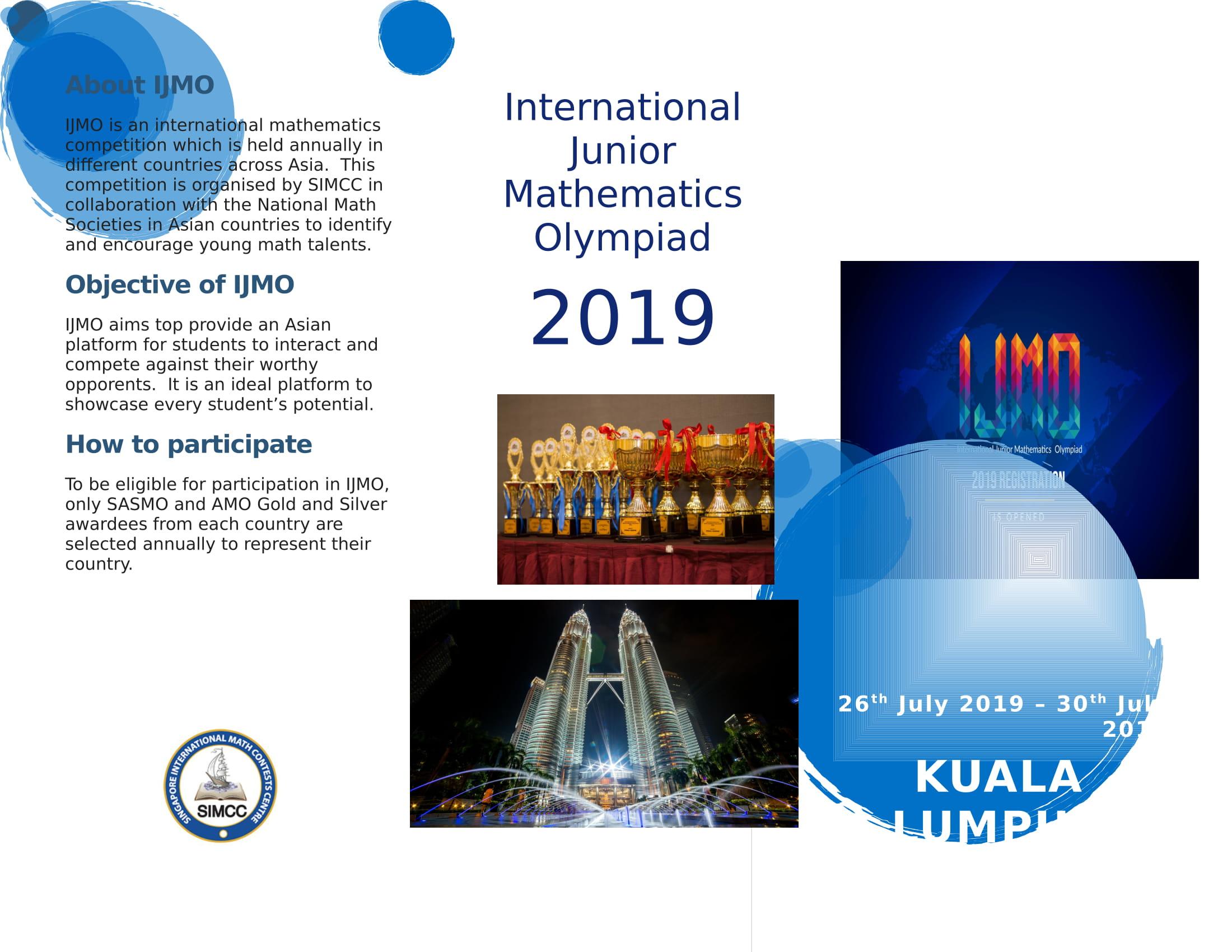 International Mathematics Olympiad 2019 - Tips and Tricks